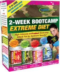 Extreme diet and exercise plan
