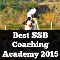 Best SSB Coaching Academy 2015