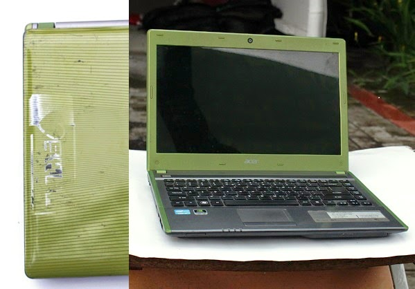 laptop gaming second acer 4755g