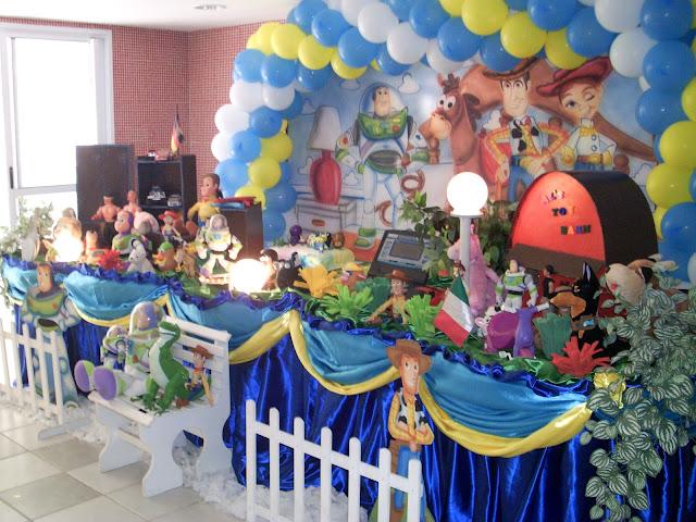 Decoração infantil - Tema Toy Story
