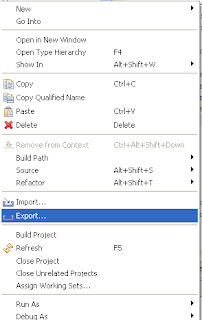 Export Android Application in Eclipse
