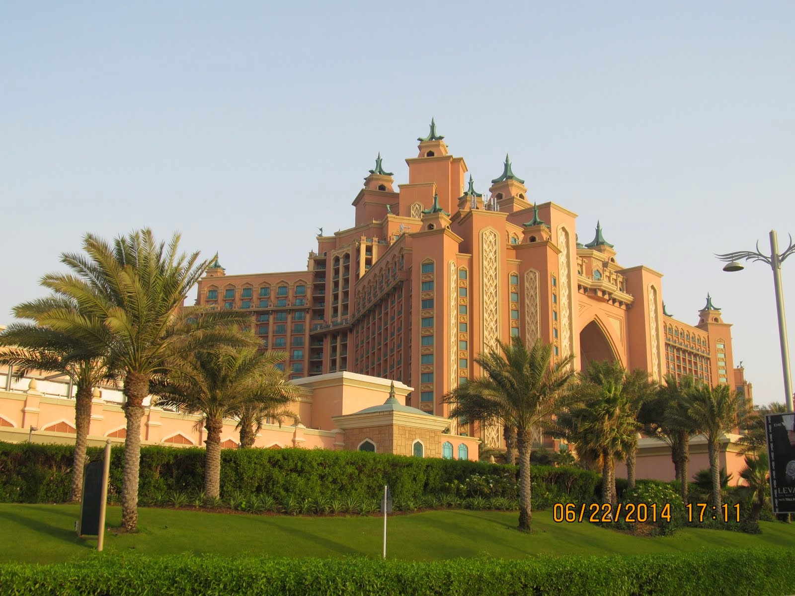 Atlantis Hotel, tip of Palm Jumeirah, Dubai, United Arab Emirates