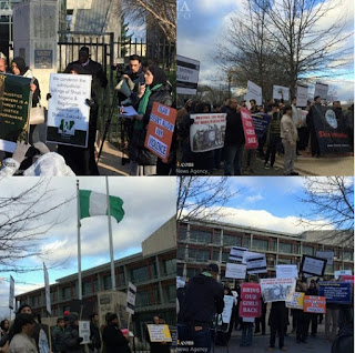 Protest In US, Canada, India and Beirut over Shi'ite leader, Sheikh Zakzaky's arrest in Nigeria