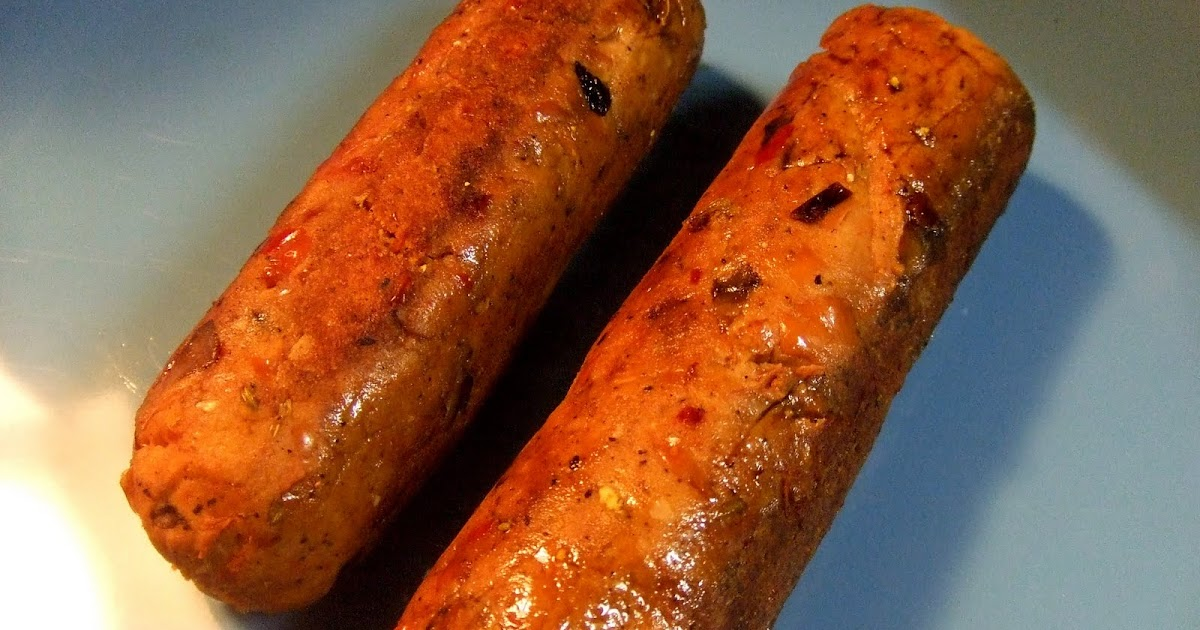 Extreme Vegan Makeover: Gluten-Free Spicy Italian Sausages Edition