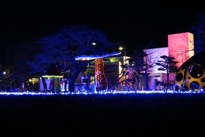 Arts Towada Winter Illumination 十和田市 アーツトワダウィンターイルミネーション