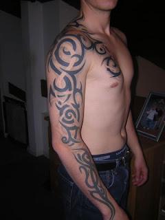 Tatuagens masculinas de tribal