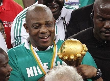 stephen keshi winner, champion and nigerian coach