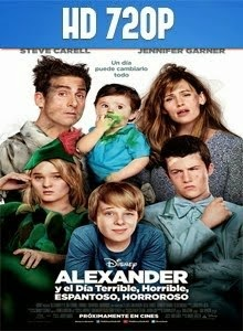 Alexander and the Terrible, Horrible, No Good, Very Bad Day HD 720p Latino