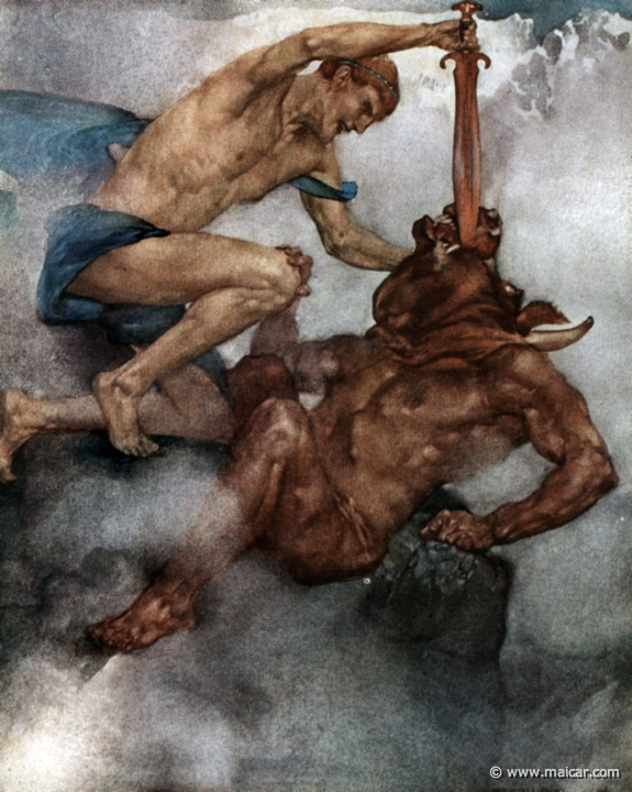 theseus and the minotaur research paper Free essay: the movie immortals borrows some of the myth of theseus for its plot a lot of the film seems to be a modern attempt at creating a greek myth.