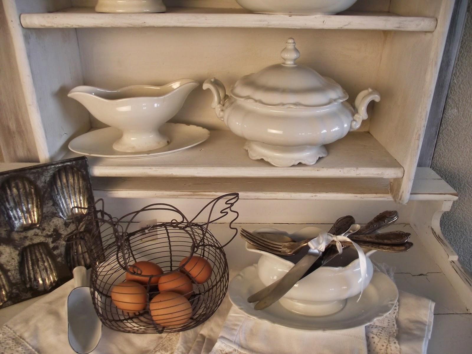 Shabby chic con amore casa shabby chic idee di cucina - Oggetti da cucina ...