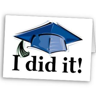 I did it with graduation cap