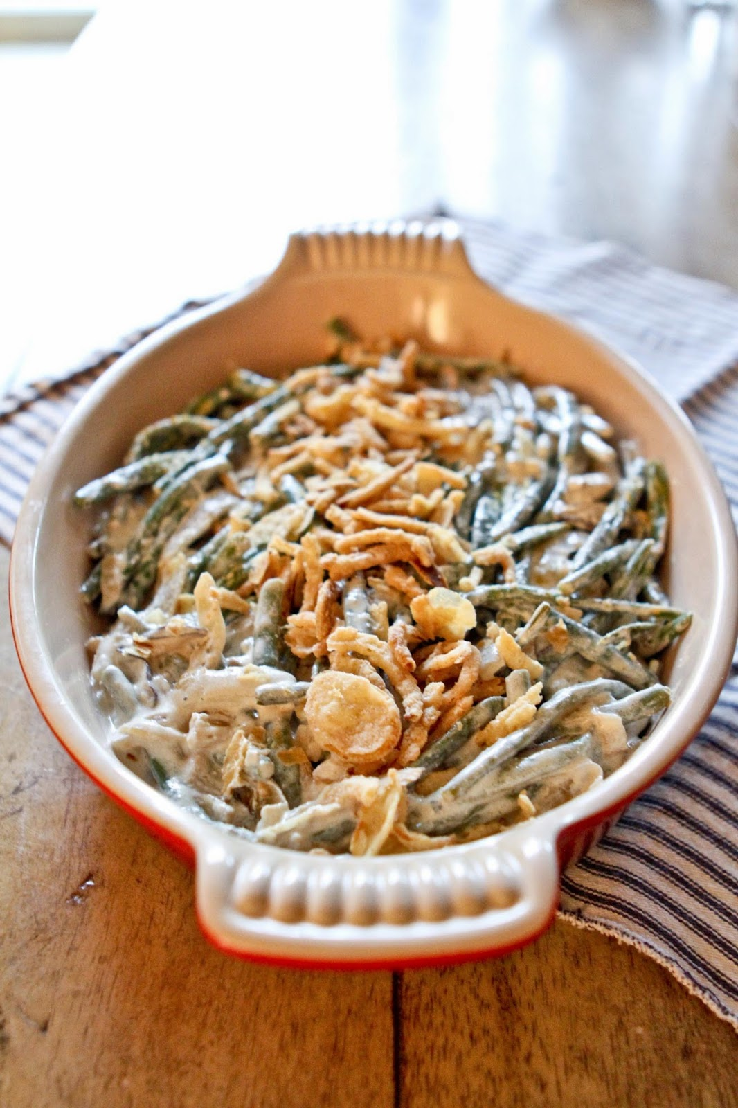 Sweet-E: Vegan and Gluten Free Green Bean Casserole