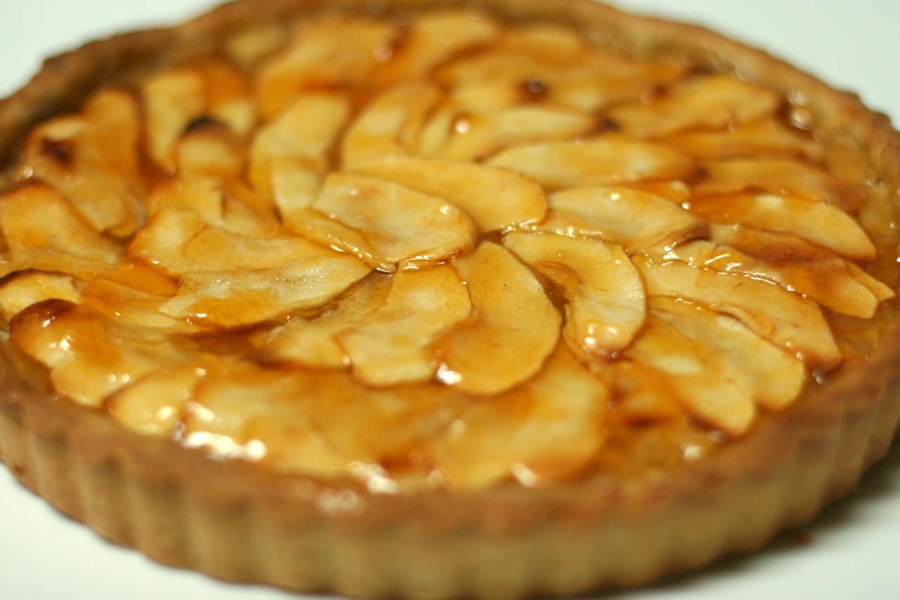 V e g a n D a d: French Apple Tart