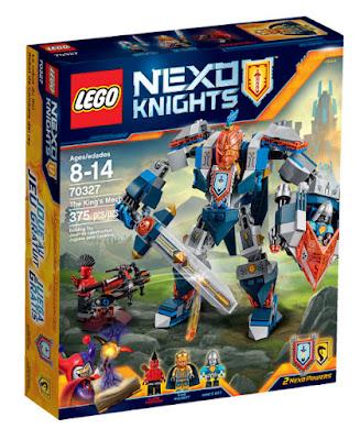 TOYS : JUGUETES - LEGO Nexo Knights70327 Robot de Combate del Rey | The King's Mech Producto Oficial 2016 | Piezas: 375 | Edad: 8-14 años Comprar en Amazon España & buy Amazon USA
