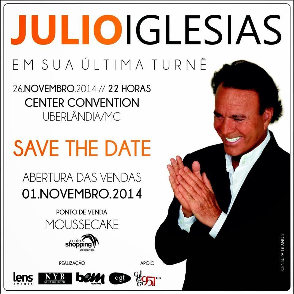 Julio Iglesias - Uberlândia/MG