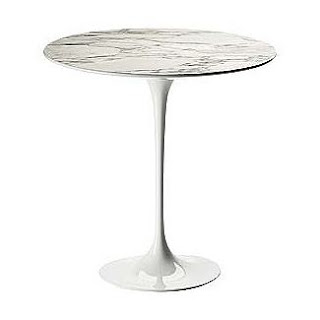 Copy cat chic design within reach saarinen marble side table for Room and board saarinen table