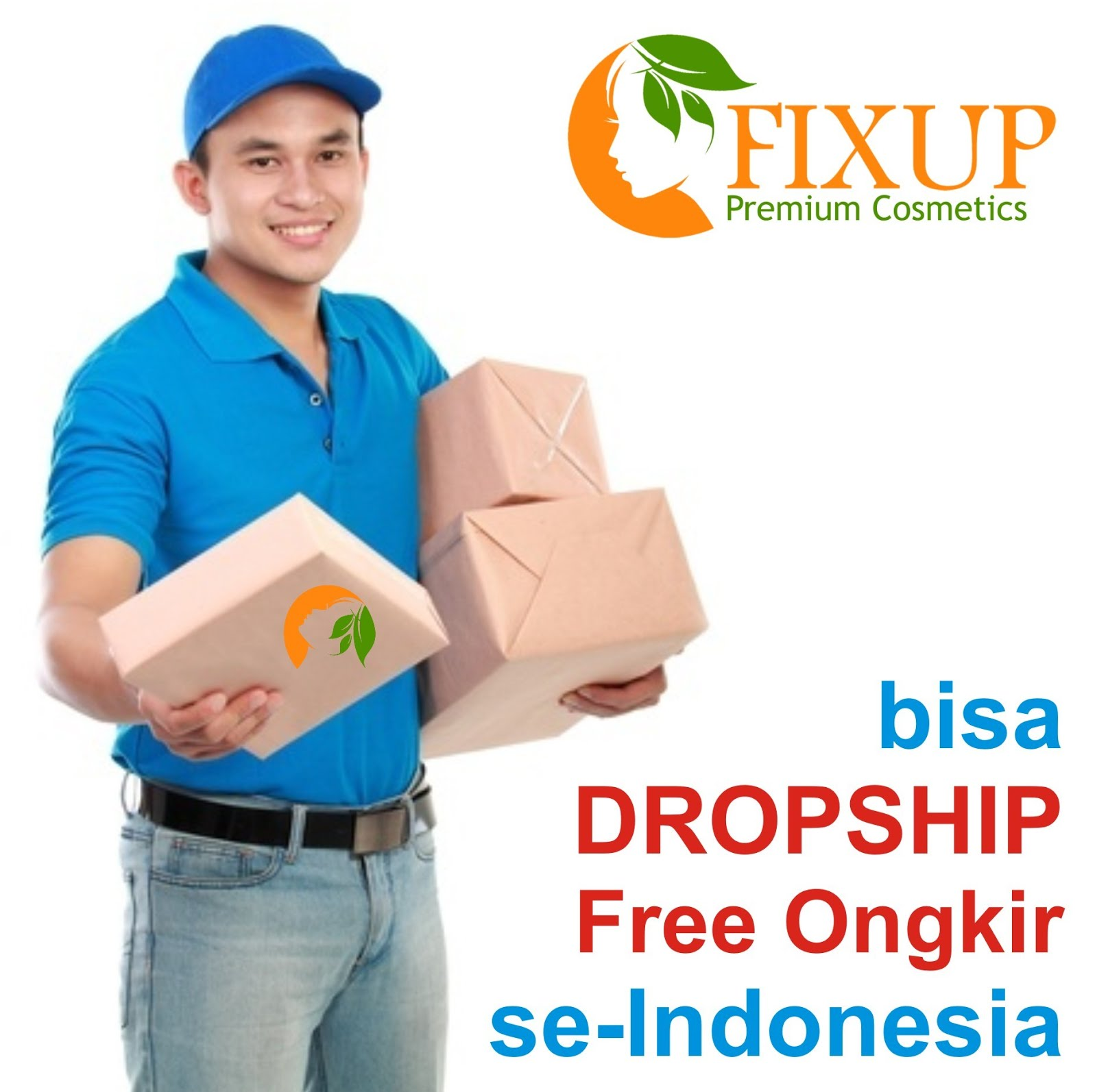 Gratis Dropship Produk Fixup se-Indonesia