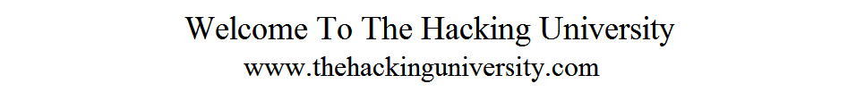 The Hacking University - Facebook,Google,Windows,Software,Mobile Apps