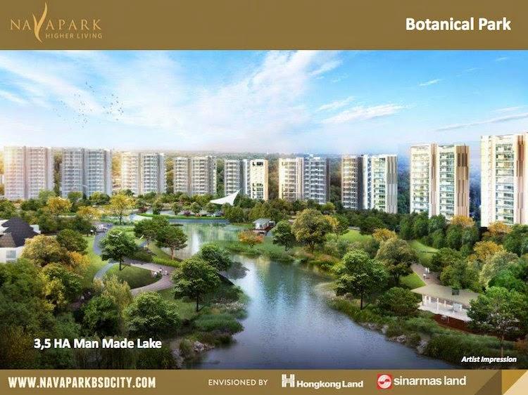 NavaPark BSD City Lake