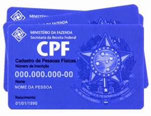 Comprovante de CPF – Como Imprimir Cartão CPF