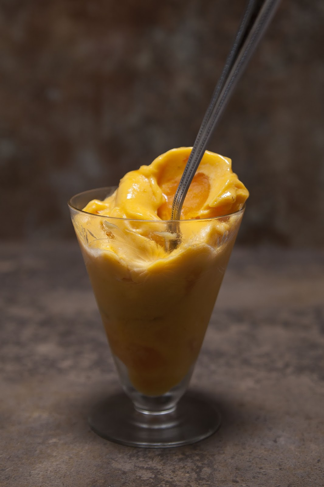 persimmon ice cream. no dairy, no sugar, no time. fast fast fast!