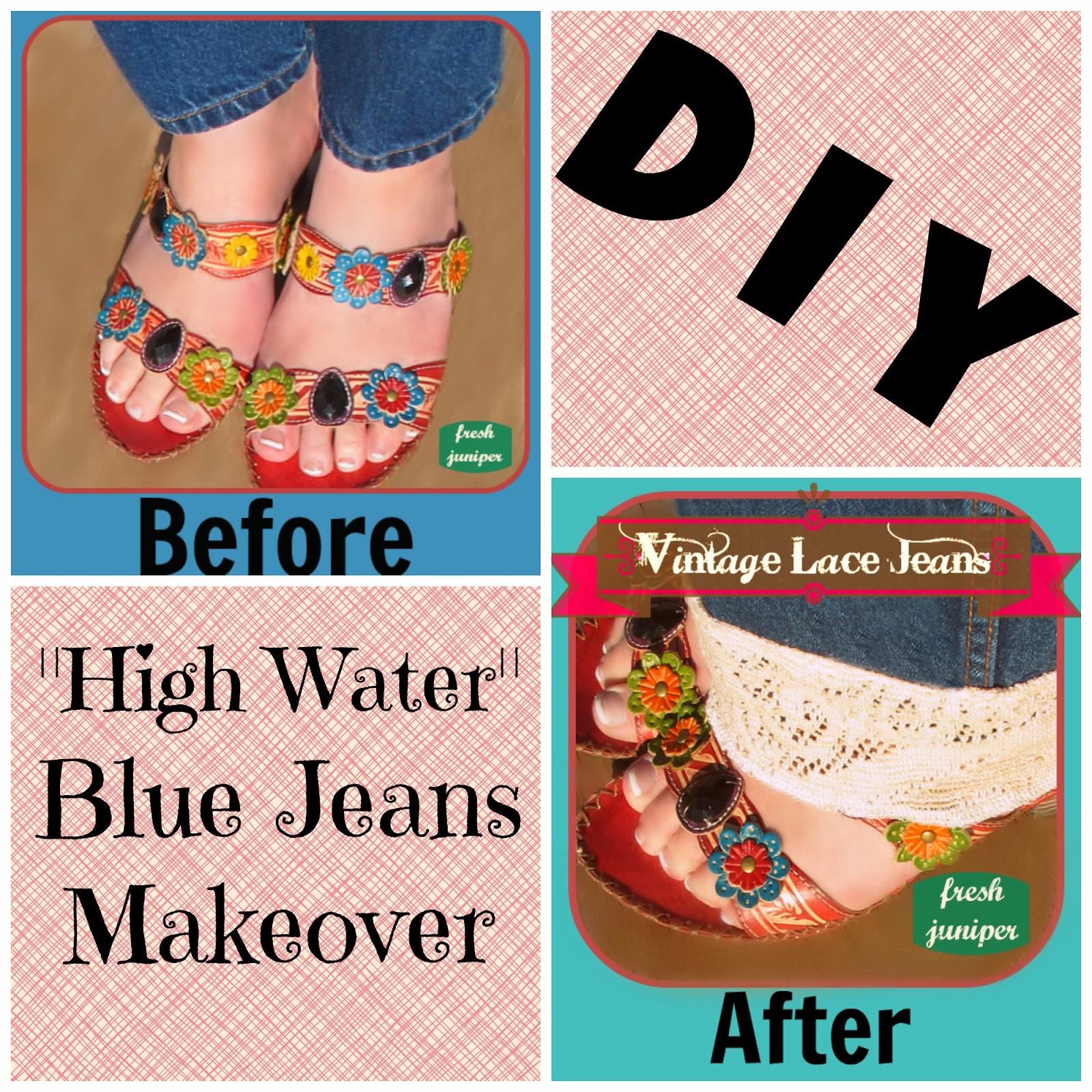 http://freshjuniper.blogspot.com/2014/02/vintage-lace-trim-jeans-tutorial-one.html