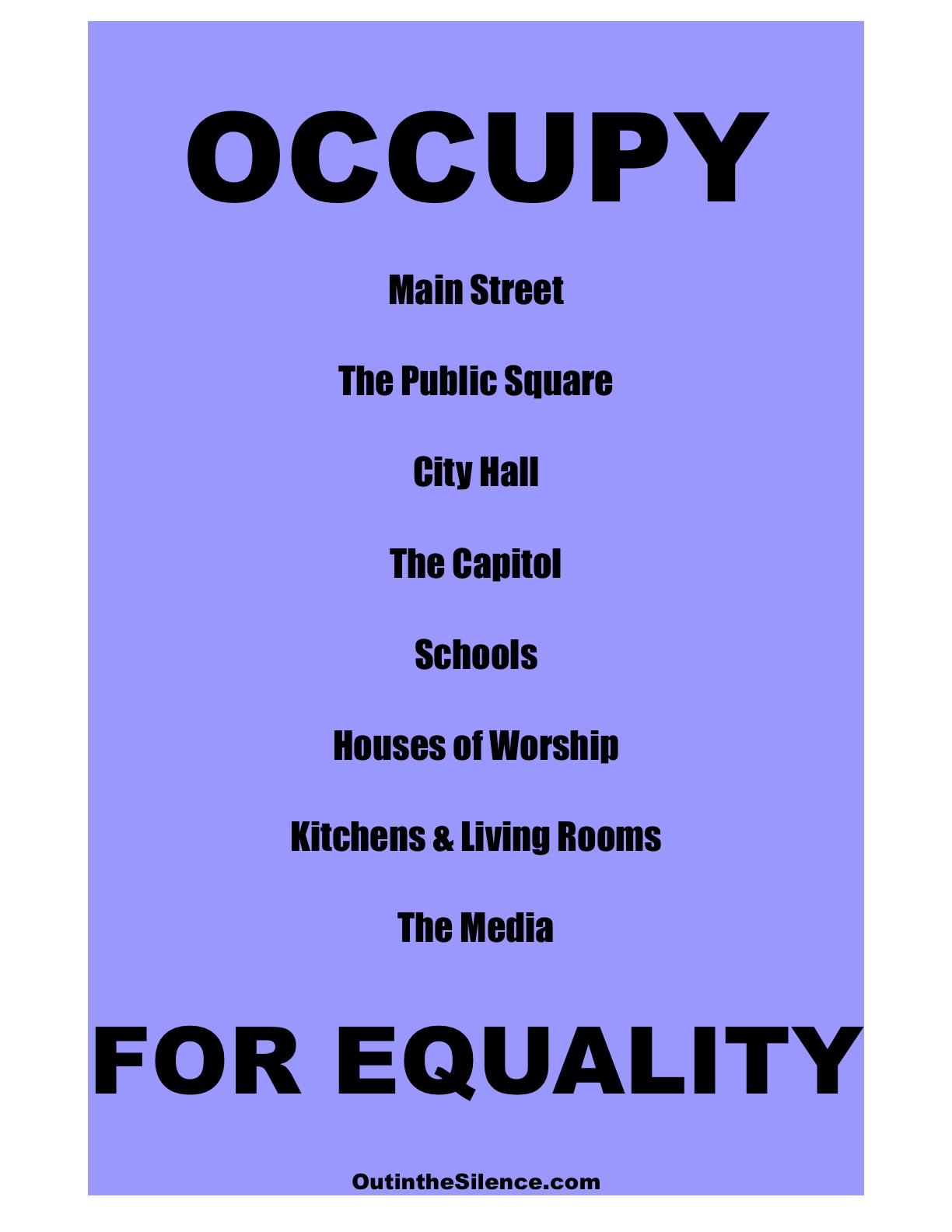 Equality Essay