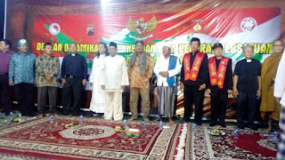 Habib Luthfie Pimpin Doa Lintas Agama