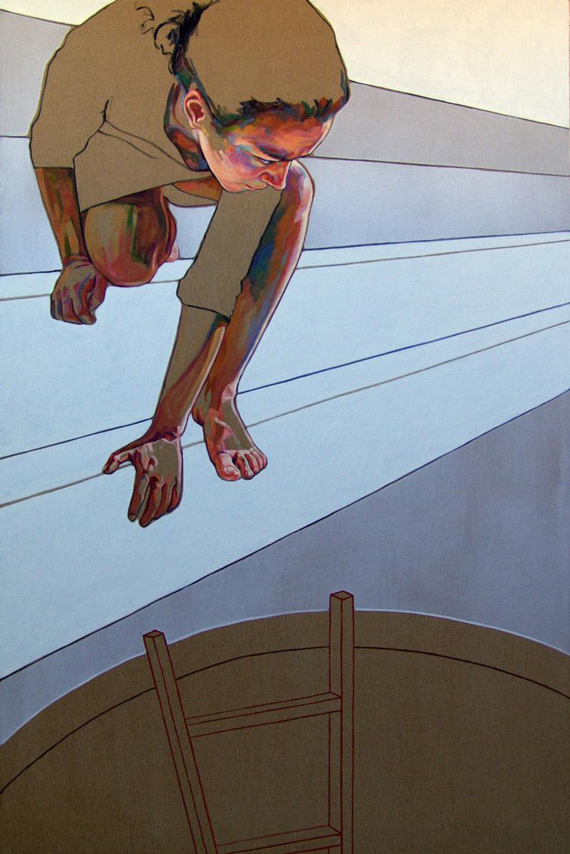 Doctor Ojiplático. Cristina Troufa. Pintura | Painting
