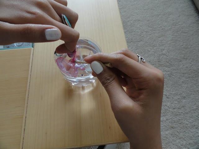 marble nail art tutorial, nail design