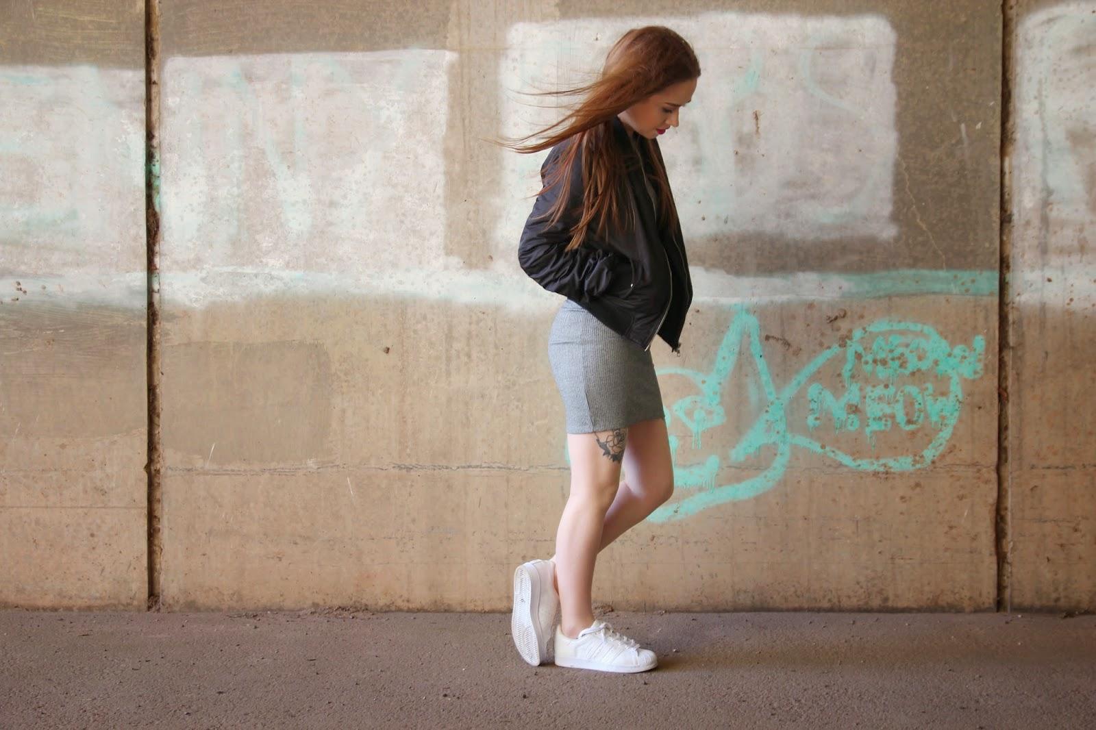Topshop. bomber, adidas, fashion, blogger