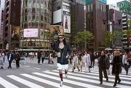 Russell Brand terrorising urban Japan