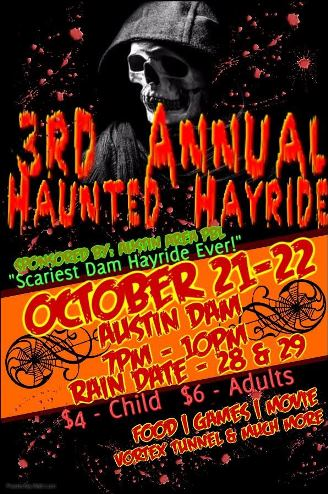 10/21-22 Austin Haunted Hayride