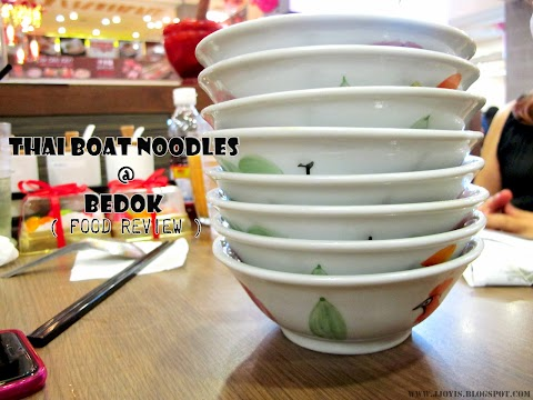 Sponsored Review: Thai Boat Noodle, Bedok Point