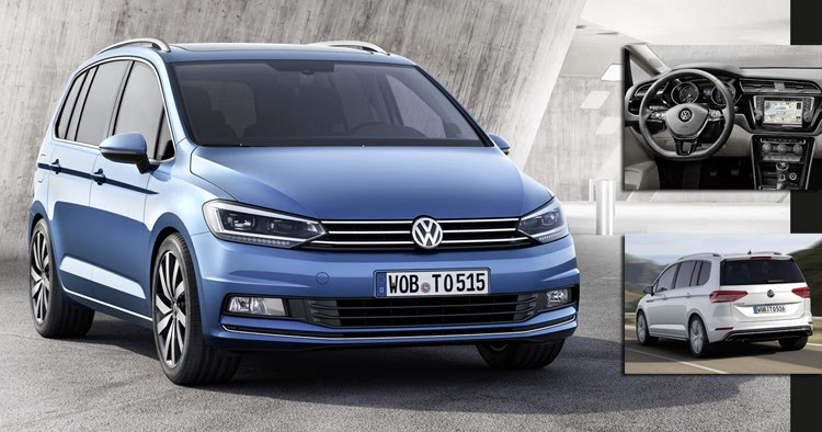 official   vw touran based  mqb platform wvideo