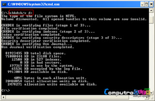 Disable Auto Check Disk (CHKDSK)4