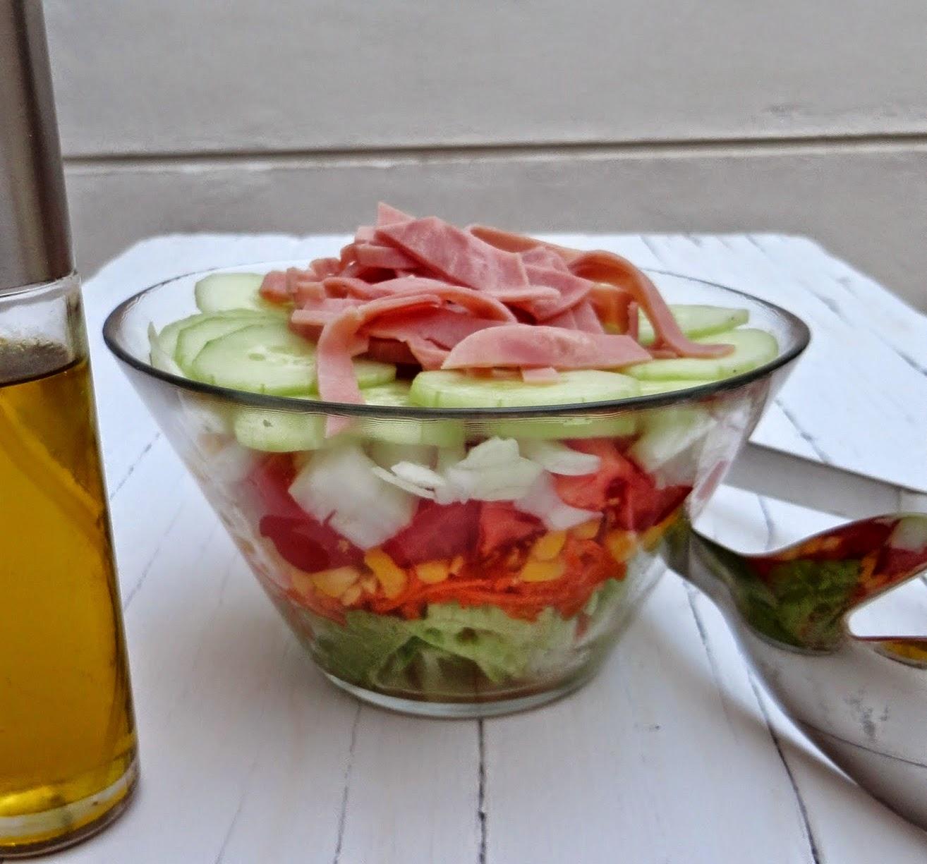 Salada de 7 camadas