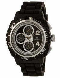 Amazon: Buy Maxima Chrono Analog Black Dial Men's Watch  at Rs. 795 only