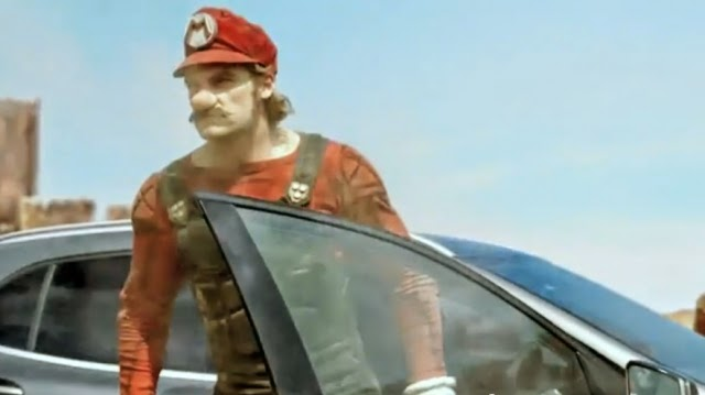 real mario car ad go gla tvcm