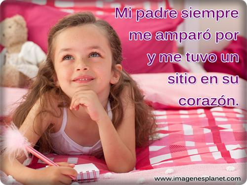 Imagenes con lindos mensajes para los padres