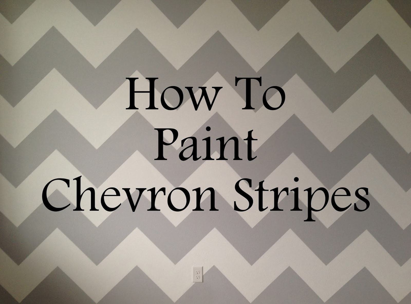 Life as always live learn how to paint chevron stripes for How to make teal paint