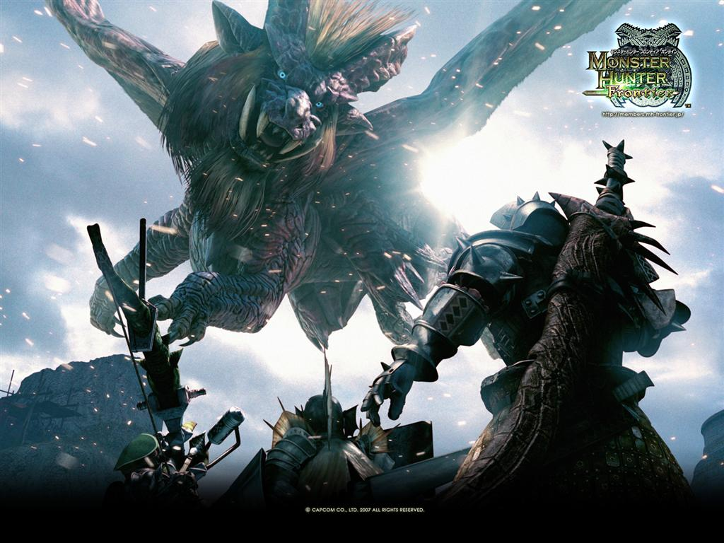 Monster Hunter HD & Widescreen Wallpaper 0.490740305907081