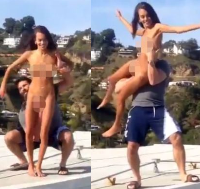 poker player throws girl off roof