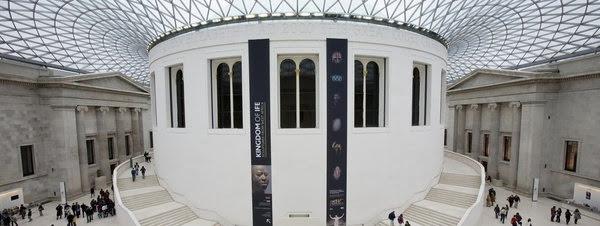 Interior del Museo Británico de Londrés
