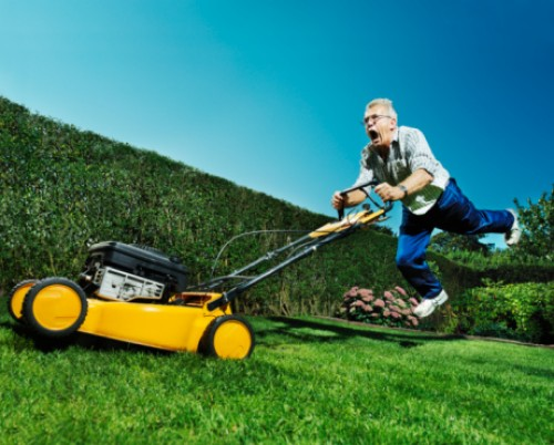 Lawn Tractor Safety : Something wicked this way comes may