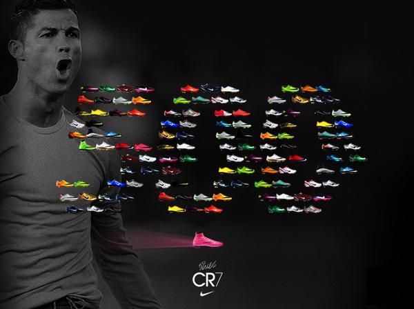 Nike celebró los 500 goles de Cristiano