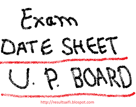 Up board allahabad intermediate date sheet 2014