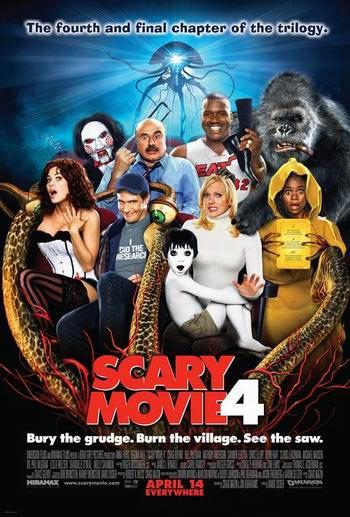 Scary Movie 4 ยําหนังจี้ หวีดดีไหมหว่า ภาค 4 HD
