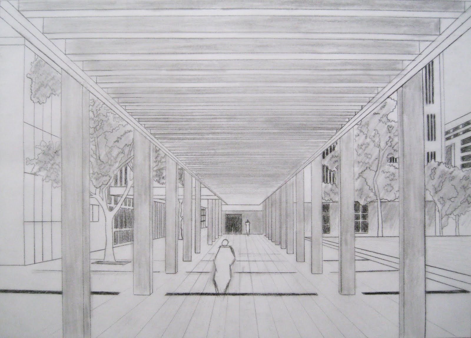 perspective drawing Perspective drawing ii next previous perspective drawing ii 7th grade -  perspective drawing ii photo by van james next previous.