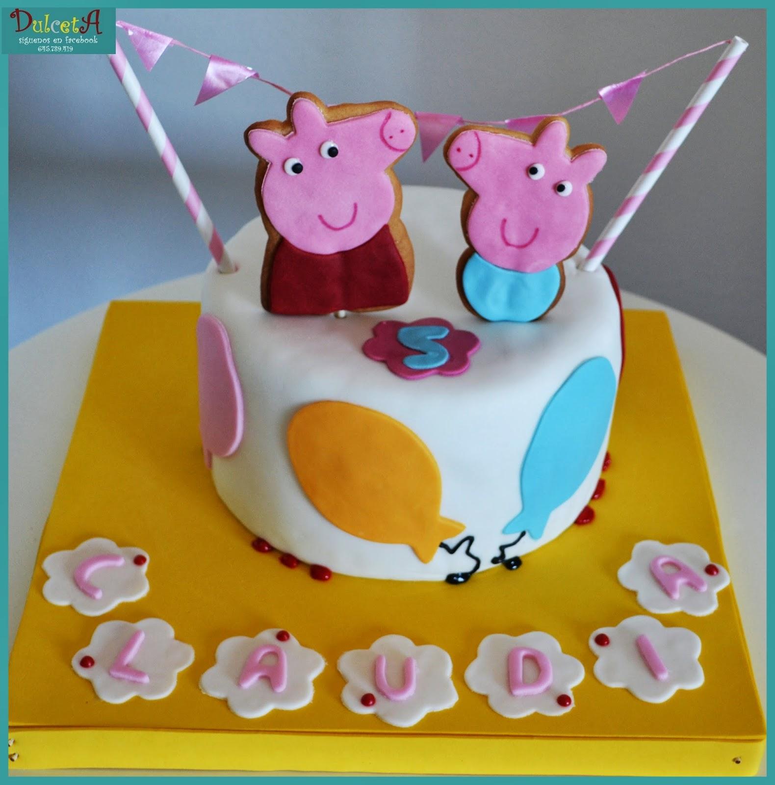 Tortas Peppa Pig, parte 2